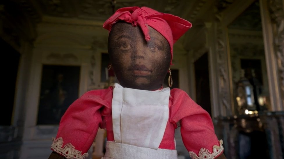 Black dolls exhibition aims to 'shock'