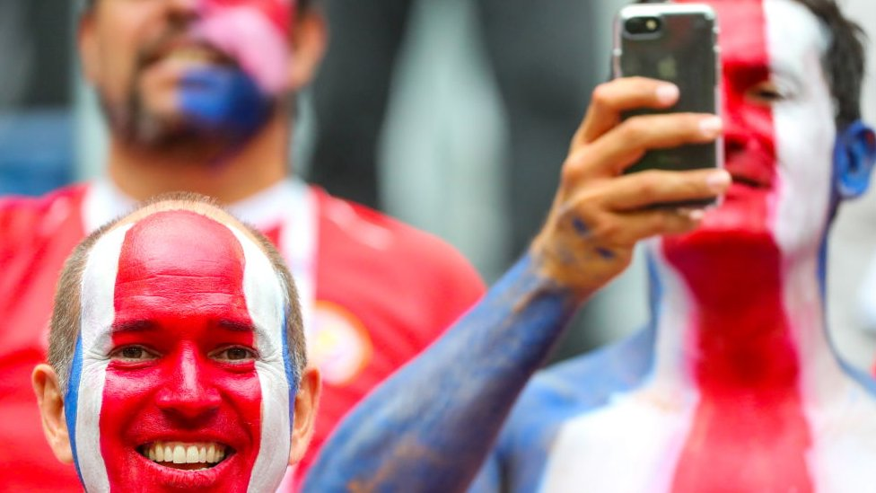 Fans de Costa Rica