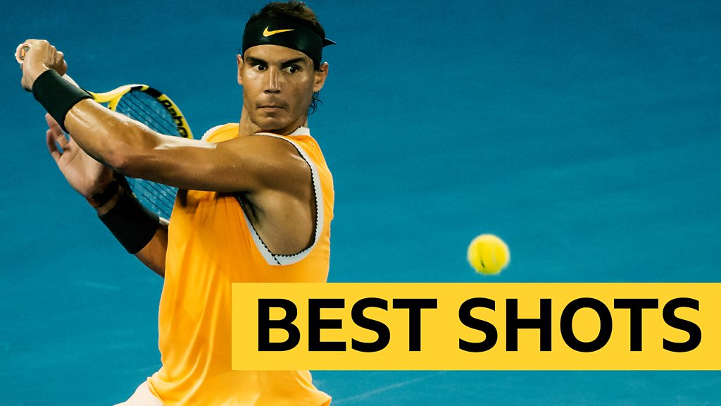 Australian Open 2019: Best shots as Rafael Nadal beats Frances Tiafo