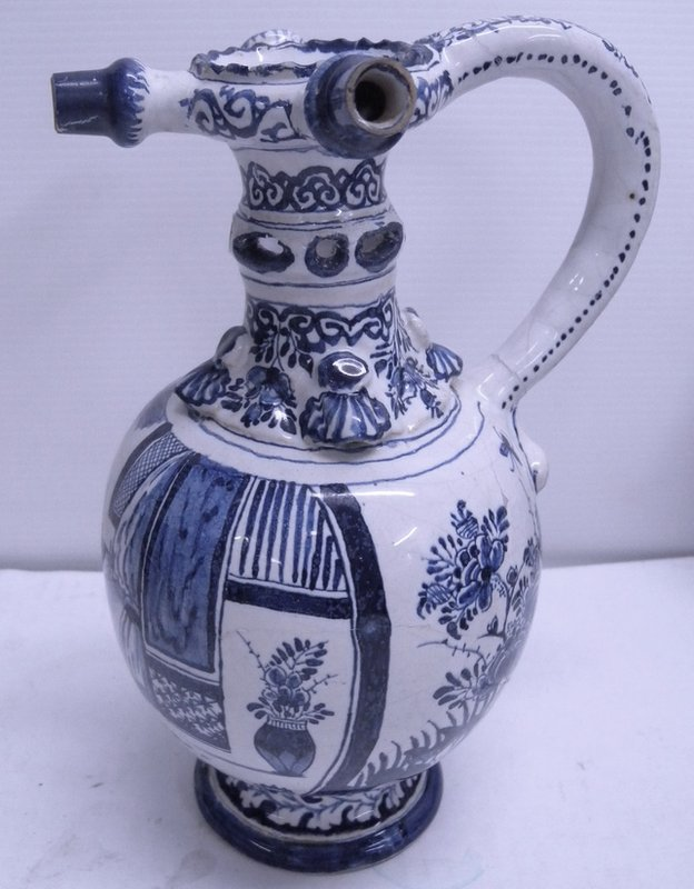 Restored to its former glory: the jug after the repair