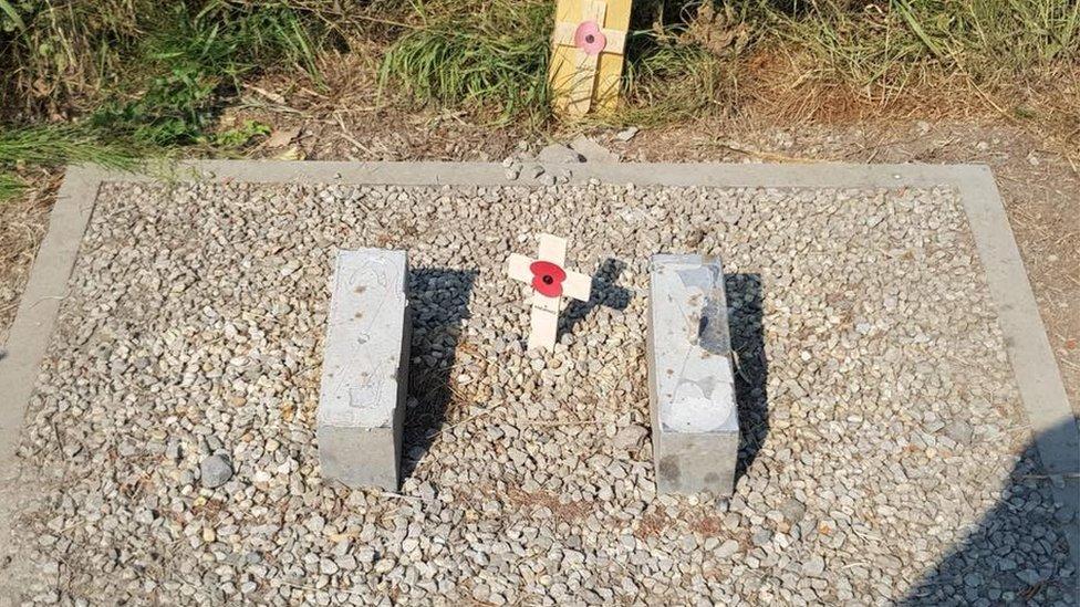 Missing stone