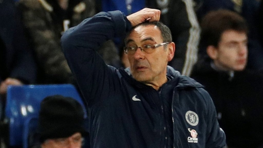Maurizio Sarri: Chelsea manager 'done' after FA Cup exit - Chris Sutton