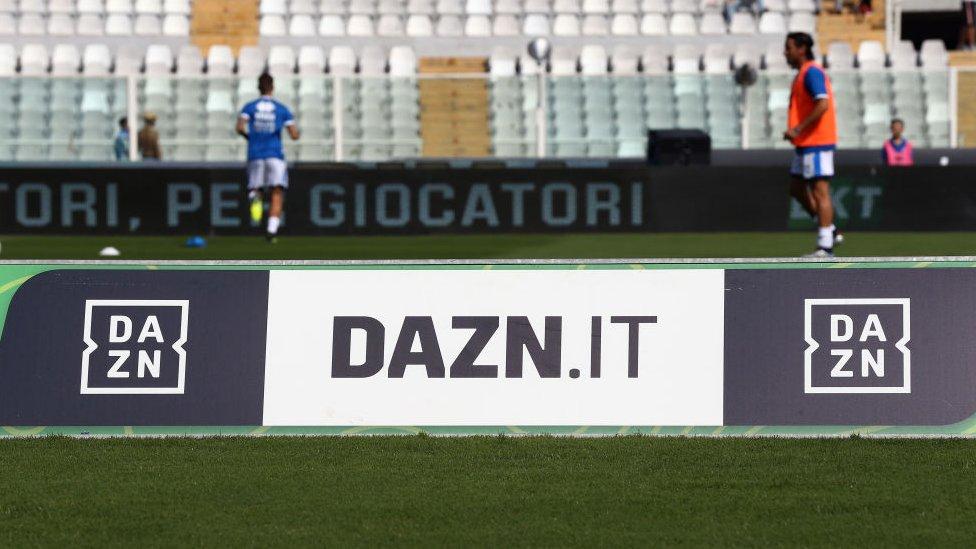 Una imagen de una entrenamiento del calcio italiano.