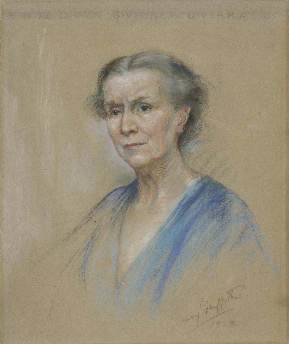 Portrait of Annie Swynnerton by Gwenny Griffiths (1928)