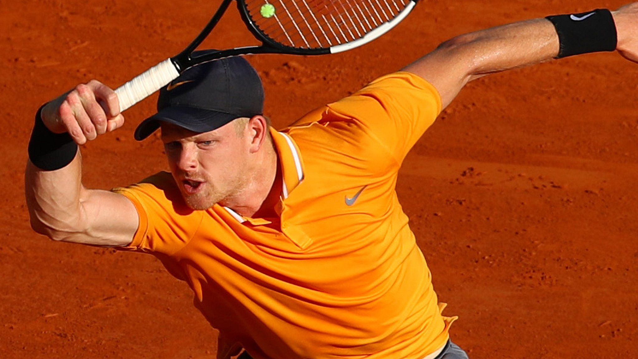 Edmund knocked out in Monte Carlo