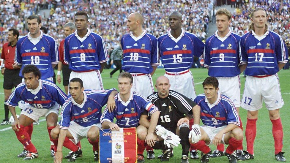 Selección francesa de 1998