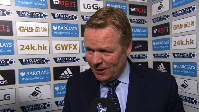 Southampton manager Ronald Koeman