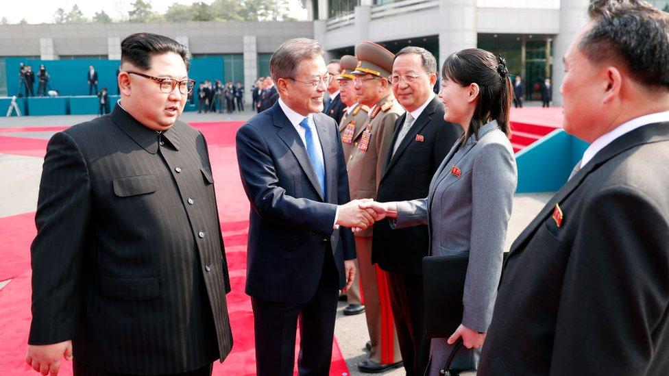 Kim Yo Jong North Korea S Most Powerful Woman And Heir Apparent Bbc News