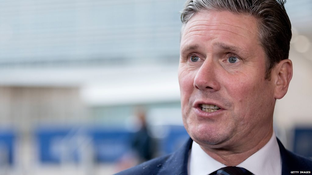 Starmer: May's deal or no deal?