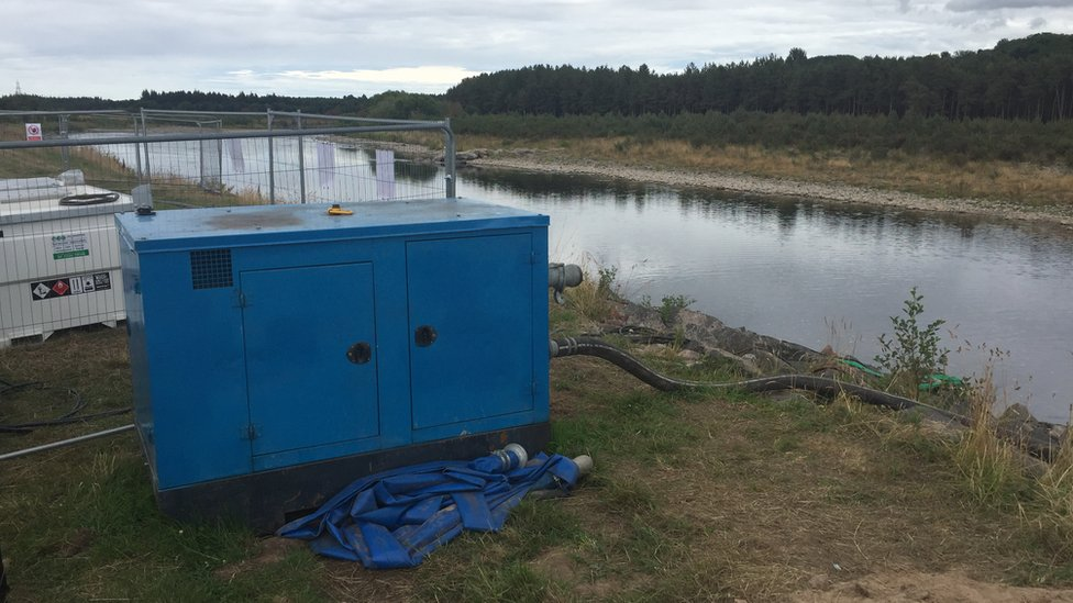 Pumps on the River Spey