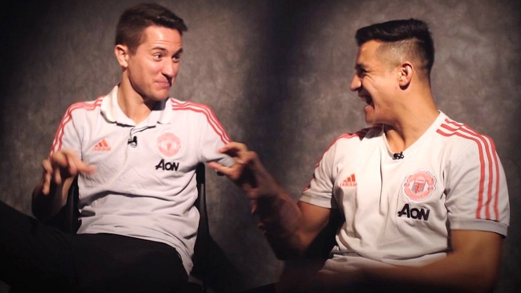 Ander Herrera or Alexis Sanchez - who would join a kids' kickabout?