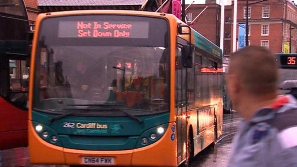 Bws Caerdydd