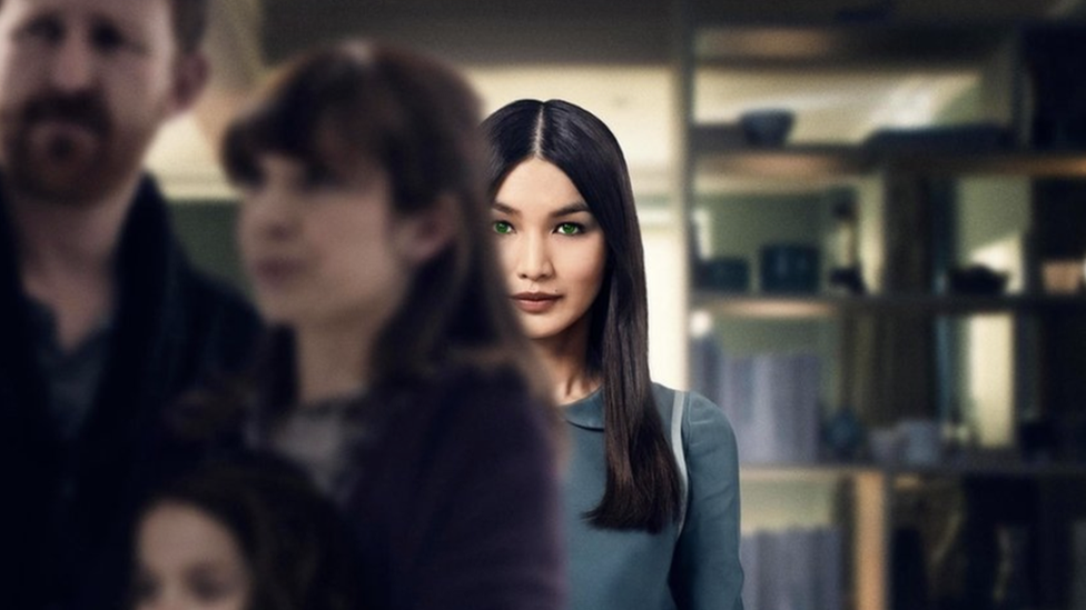 Gemma Chan plays an anthropomorphic robot called Mia in the Channel 4 drama Humans