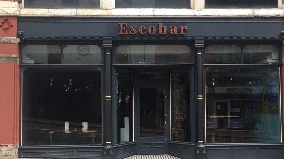 Escobar pub