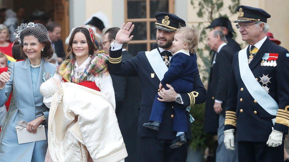 Sweden's King Gustaf