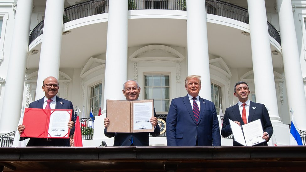İsrail ile BAE ve Bahreyn arasında normalleşme anlaşmaları
