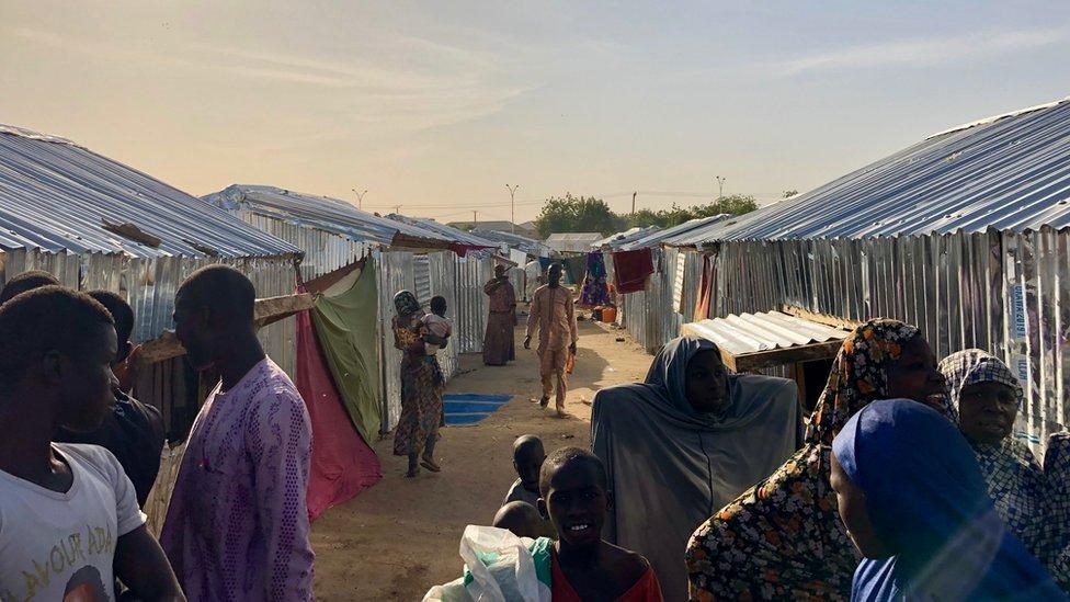Teachers village Internally displaced persons camp