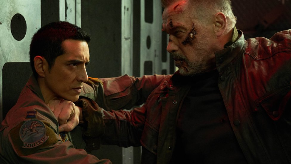 Arnold Schwarzenegger in Terminator