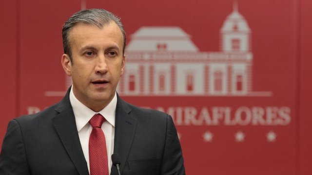 Vicepresidente venezolano de Economía, Tarek el Aissami