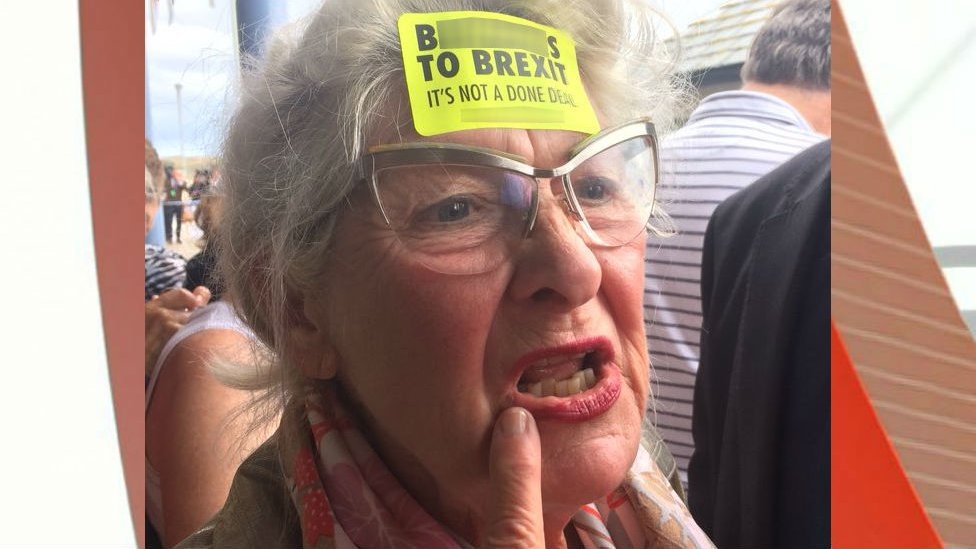 Brexit protester removed from Isles of Scilly royal visit