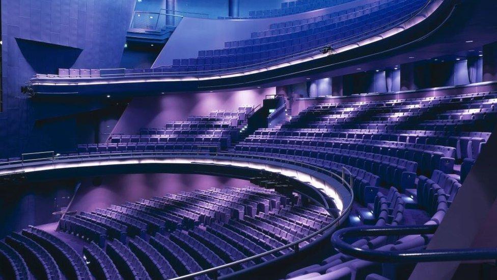 The Lyric Theatre, Shaftesbury Avenue, Manchester