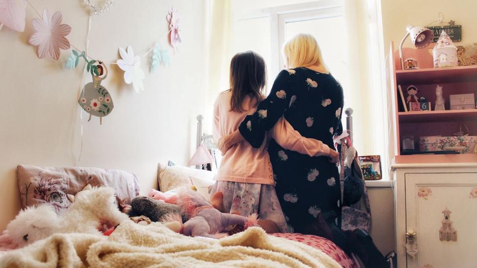 Tracy y su hija