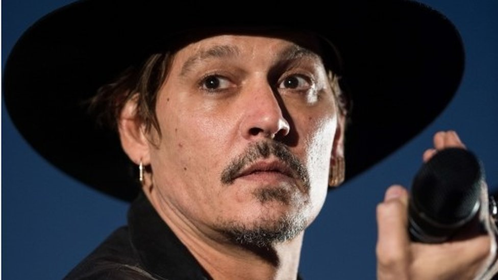 Is Depp in trouble over Trump remarks?