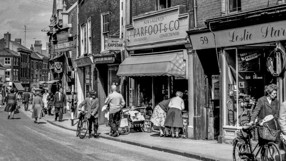 St Stephens Street, Norwich, before redevelopment