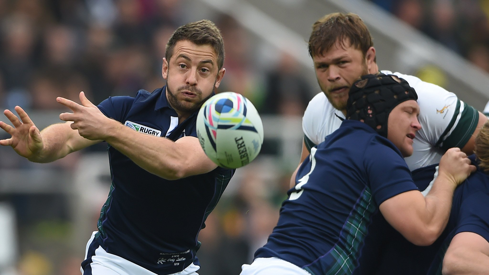 Scotland v South Africa: Beating Springboks would be 'best win' - Gregor Townsend