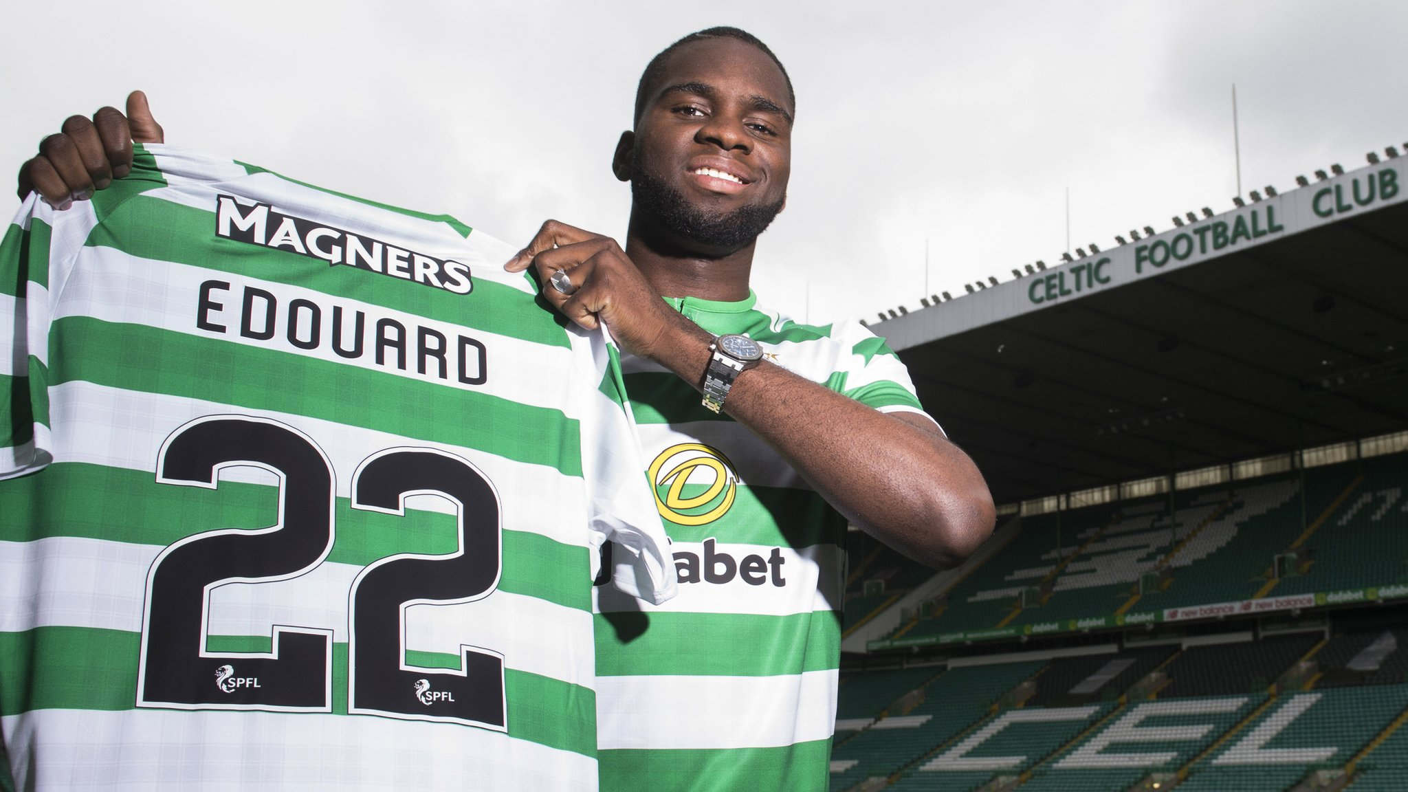 Odsonne Edouard: Celtic sign PSG forward in 'biggest transfer'