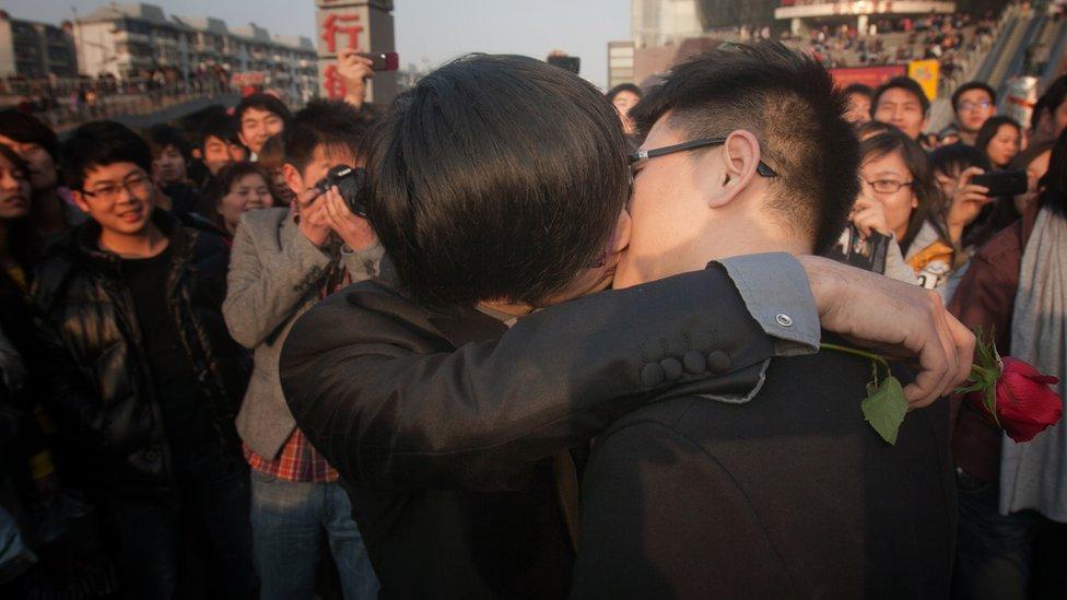 protesta gay en 2011.