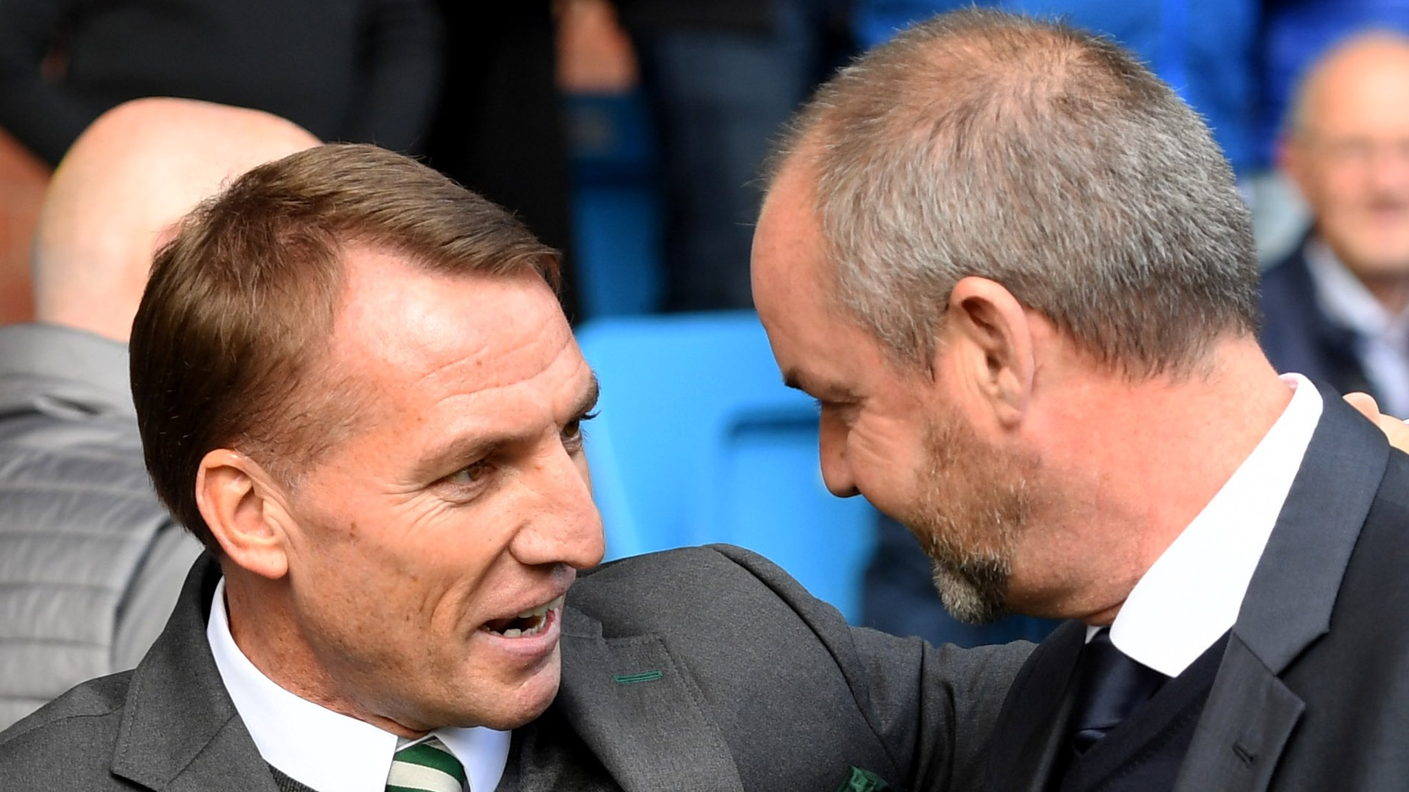 Brendan Rodgers: Kilmarnock not top 'by accident' says Celtic boss