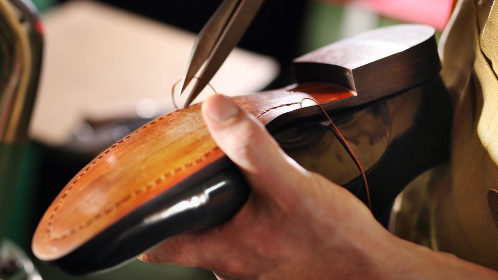 UK footwear firms 'need more shoemakers' as exports grow