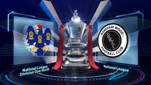 Northwich Victoria 1-1 Boreham Wood highlights
