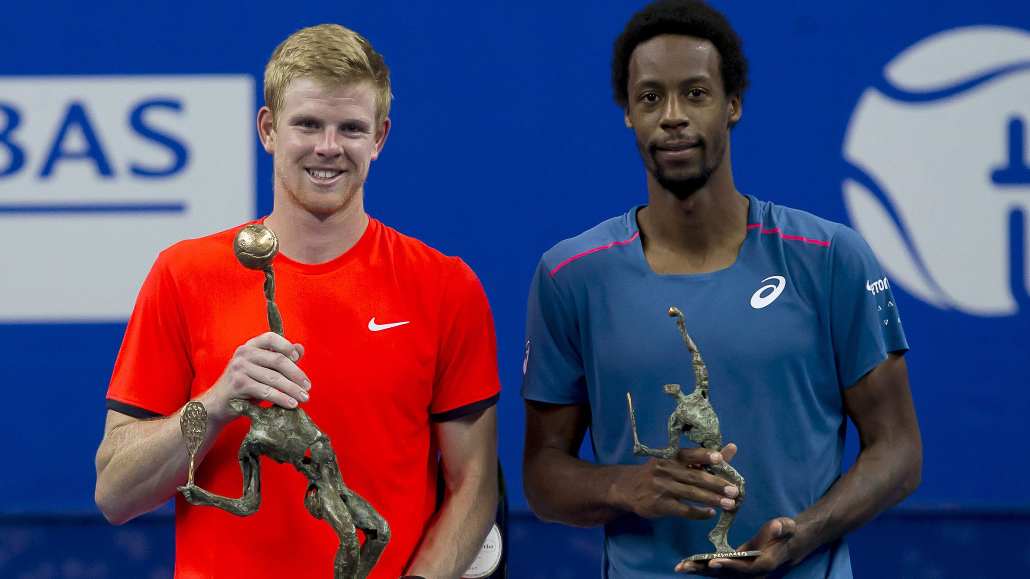 European Open: Britain's Kyle Edmund beats Gael Monfils to seal maiden title