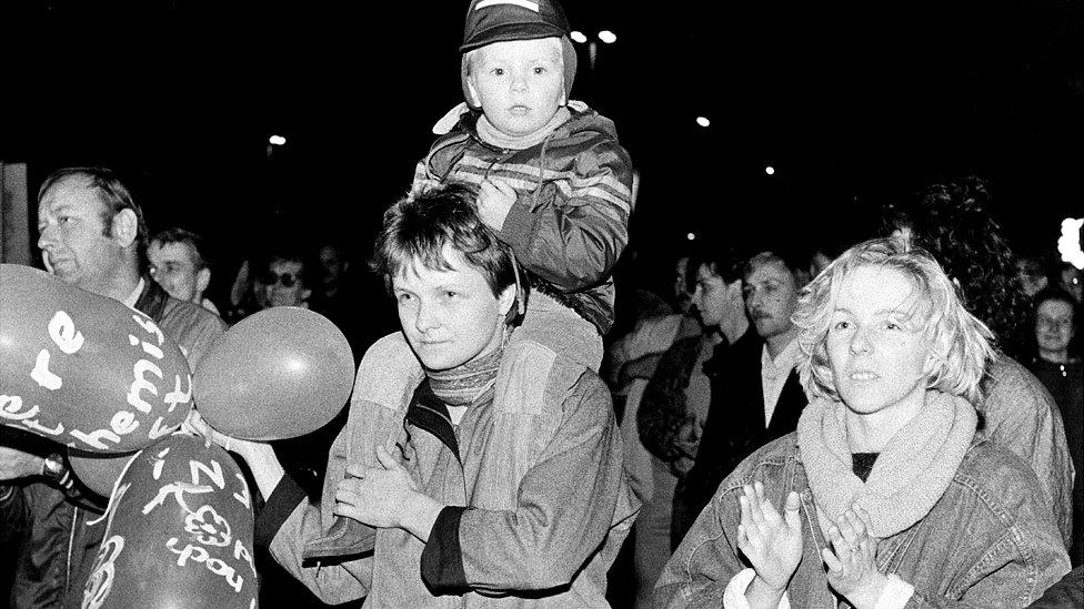 Leipzig Monday demonstration, 30 Oct 89