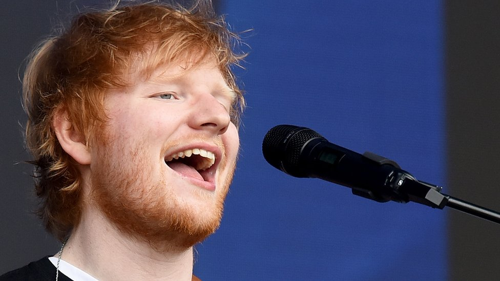 Ed Sheeran stops sell-out Cardiff concert for the toilet - twice