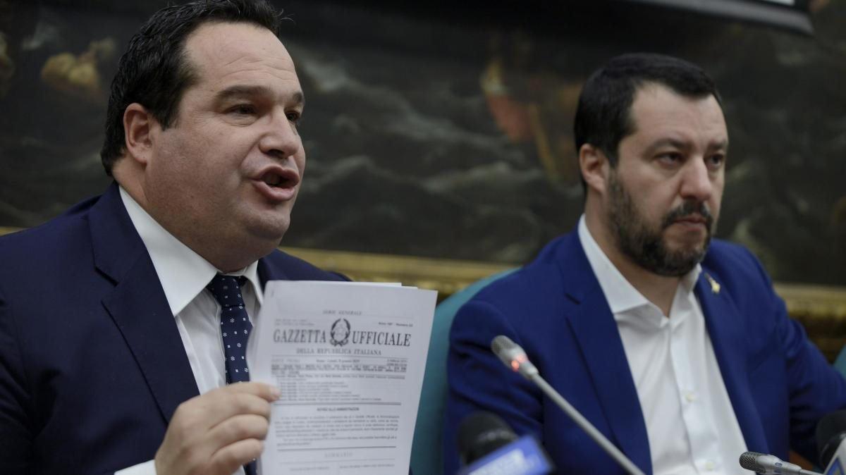 Claudio Durigo ve Matteo Salvini