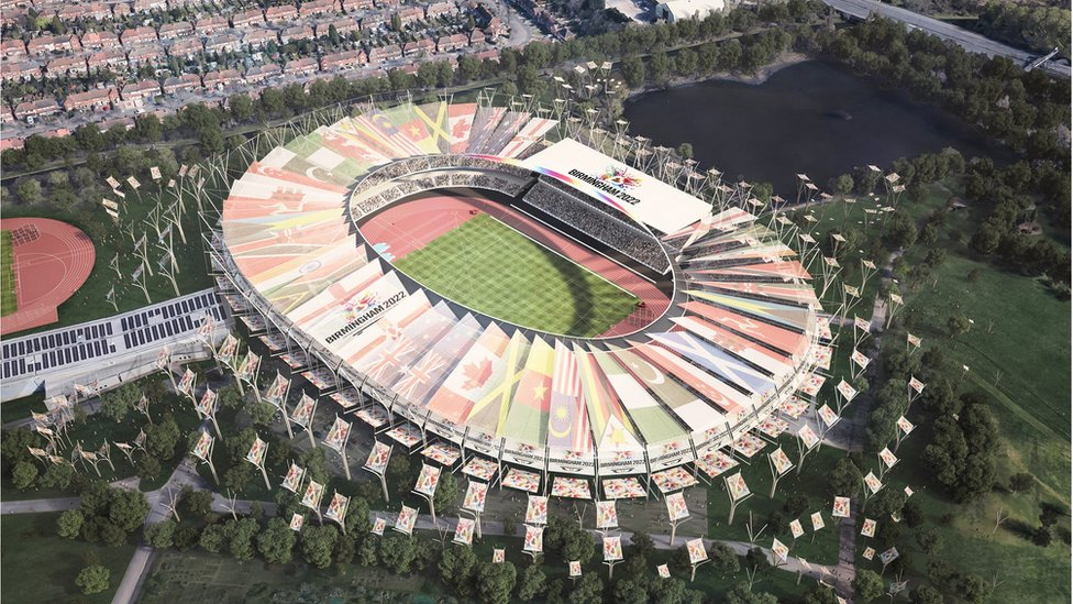 What Alexander Stadium would look like