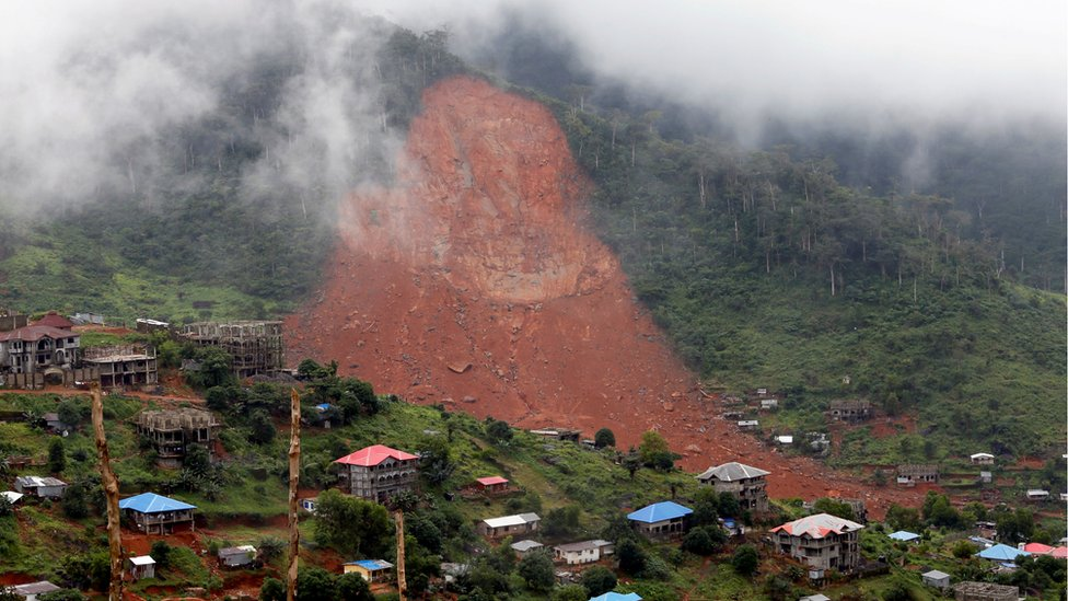 Reflections On Sierra Leone S Mudslide Disaster Bbc News