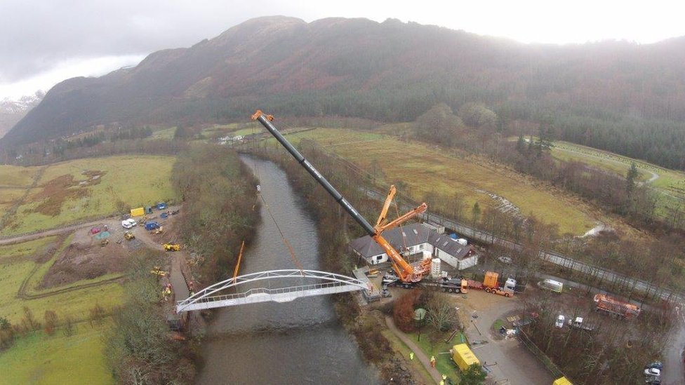Glen Nevis footbridge