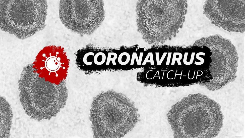 Coronavirus Catch-up logo