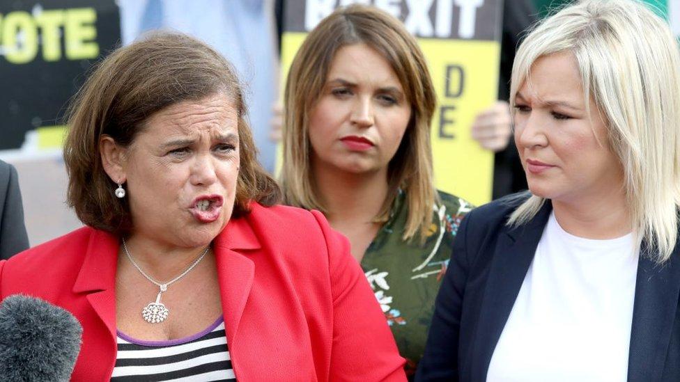 Sinn Fein leaders
