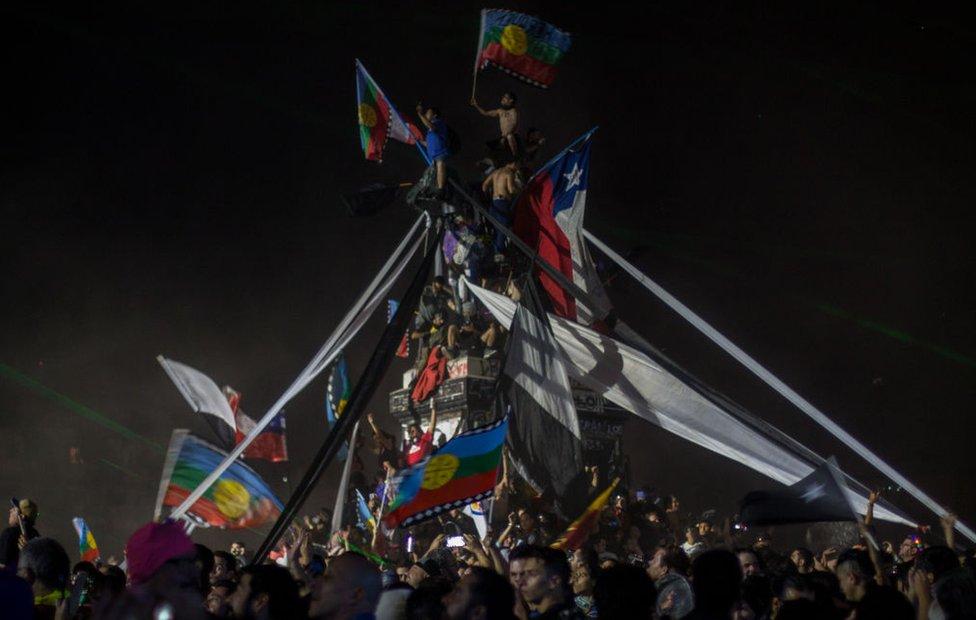 celebracion en Santiago