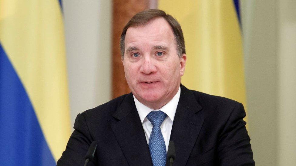 Stefan Löfven, primer ministro de Suecia.