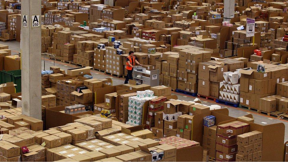 Amazon'un deposu