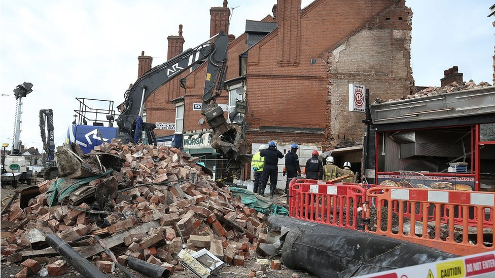 Leicester explosion: Three men jailed for murdering five people