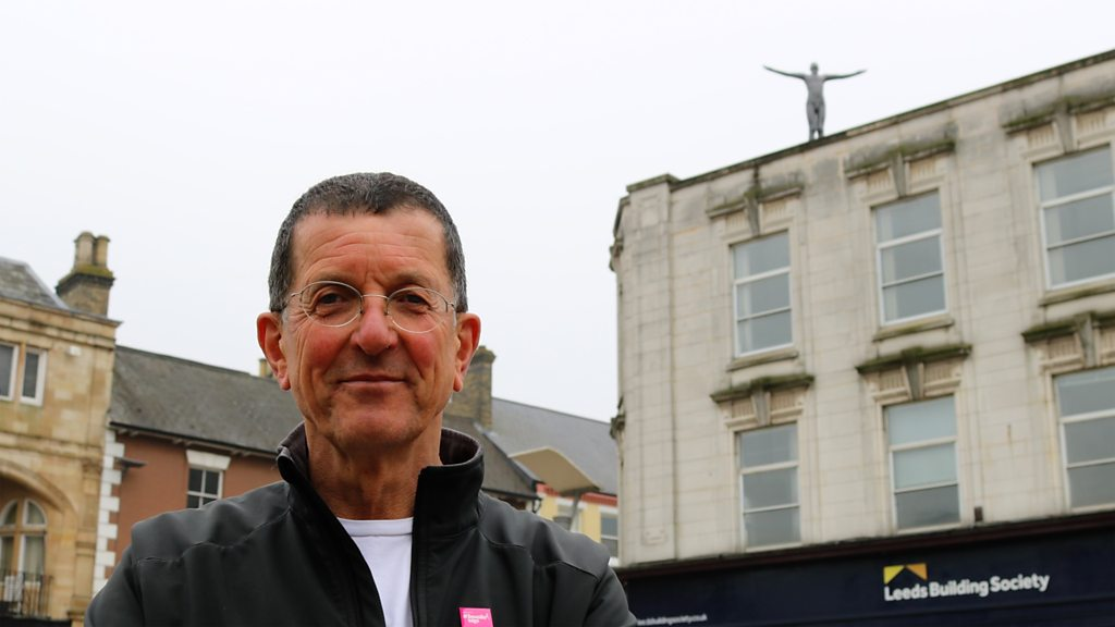 Antony Gormley sculpture gets Peterborough rooftop display