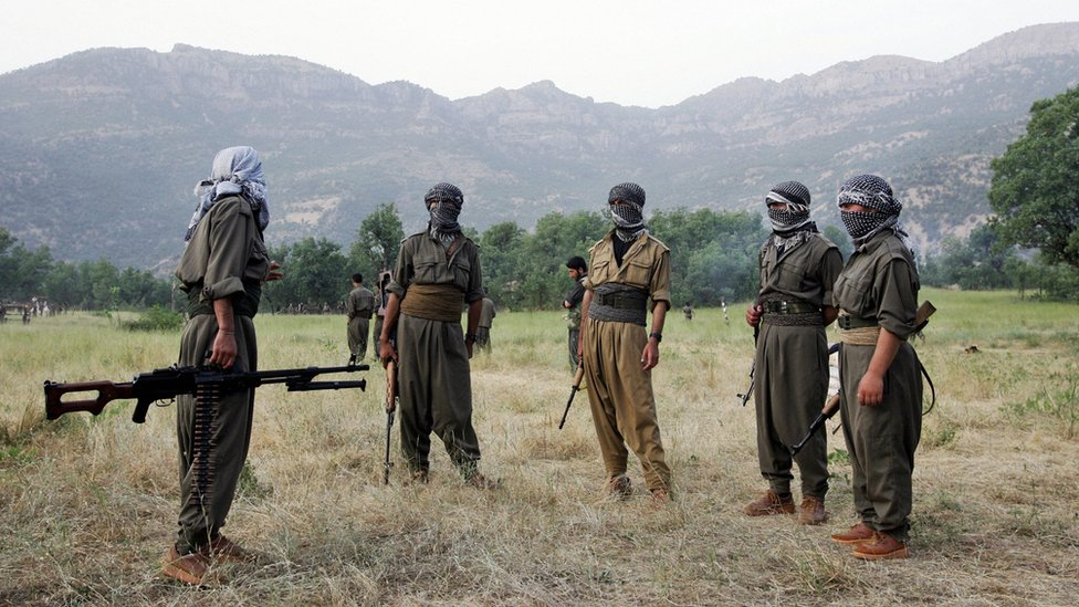 combatientes del PKK