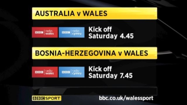 BBC Wales trail: 'It's going to be a big day for Welsh sport'